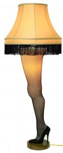 Deluxe Lit Leg Lamp