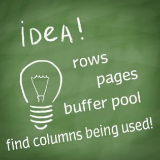 How To: Right-sizing The Datatypes Currently In The Buffer Pool