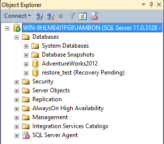 HOW TO: Restore the Master Database in SQL Server 2012
