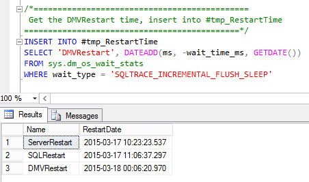 HOW TO: Find When SQL Server Wait Stats Were Last Cleared