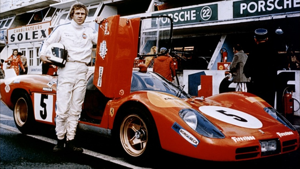 You may think you're cool, but you'll never be 'Steve McQueen driving a Ferrari at Le Mans' cool.