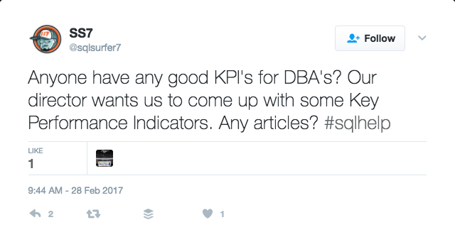 KPIs for DBAs to show to their CIOs