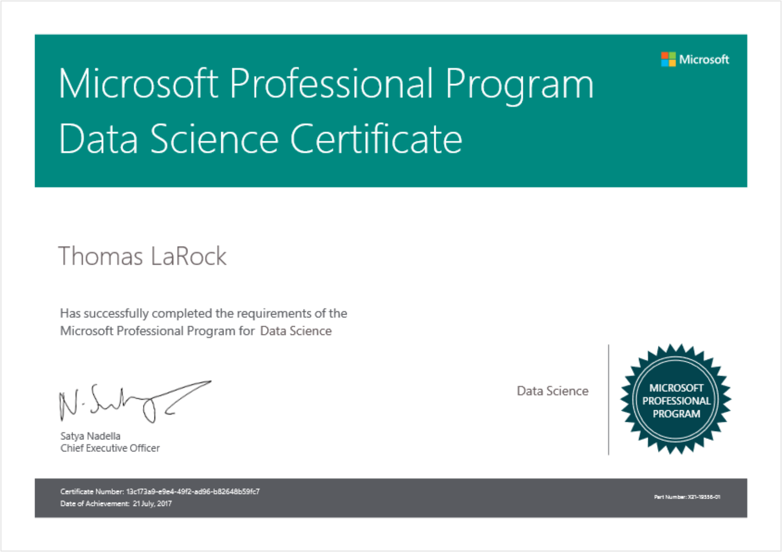 Why im learning data science honestly this certificate means more to me than my sql server mcm however i liked the structure of this course so much that i wish microsoft would xflitez Images